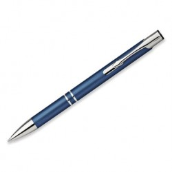 OLEG BRUSH kovové kuličkové pero, tmavě modrá s laserovým gravírováním