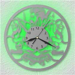 PSÍ ZNÁMKA - saténově modrá (30x50mm, 1mm)