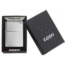 Stříbrný plynový zapalovač v americkém stylu - včetně laserového popisu